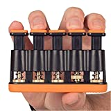 Kilcvt Handgriff-Trainer, Fingerkrafttrainer, einstellbares Krafttraining Heimfitnessgerät, für...