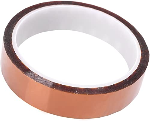 2021 Mallofusa High Temperature Heat Resistant Kapton 2021 Tape Film Adhesive Tape Polyimide 20mm outlet sale 33M online sale