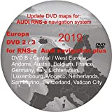 RNS-E 2018 – 2019 Navigation Plus Sat Nav Map DVD - compatible con AUDI, SEAT EXEO (Disco 2 – Europa Central/Occidental)