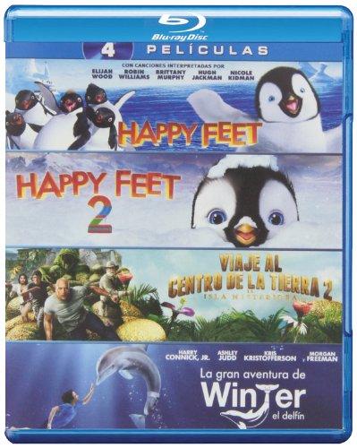 Pack: Happy Feet 2 + Happy Feet 1 + La Gran Aventura De Wint