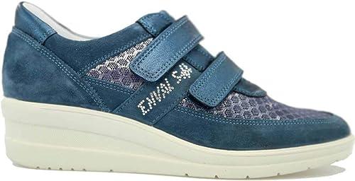 Enval soft 3270933 Chaussures en Cuir avec Sangle pour Femme Beige