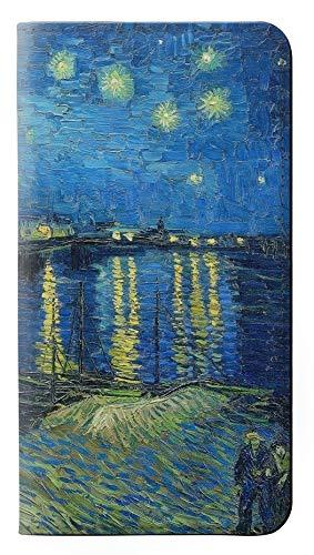 Van Gogh Starry Night Over the Rhone Flip Case Cover Custodia per Samsung Galaxy S7