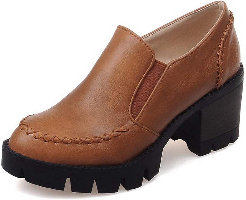 BalaMasa Womens Ruffles Puncture-Resistant Travel Urethane Walking shoes APL10474