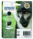 Epson C13T08914011 - Cartucho de tóner adecuado para BX300F, color negro válido para los modelos Stylus y Stylus Office SX115, SX100, BX300F y otros, Ya disponible en Amazon Dash Replenishment