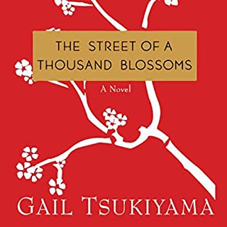 The Street of a Thousand Blossoms audiobook cover art
