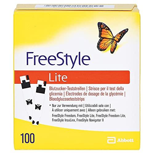 FREESTYLE Lite Teststreifen ohne Codieren, 100 St