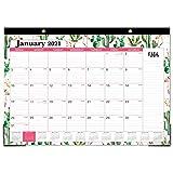 2021-2022 Desk Calendar - 2021-2022 Desk/Wall Calendar, 18 Months Desk Calendar, 12' x 17', January 2021- June 2022, Large Ruled Blocks for Planning and Organizing for Home or Office