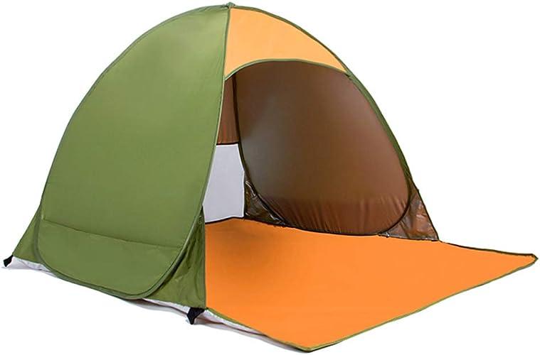 Fulitanghuang Tente instantanée instantanée de Couple de Coupe-Vent imperméable instantanée de Camping de Tente instantanée, 3 Couleurs