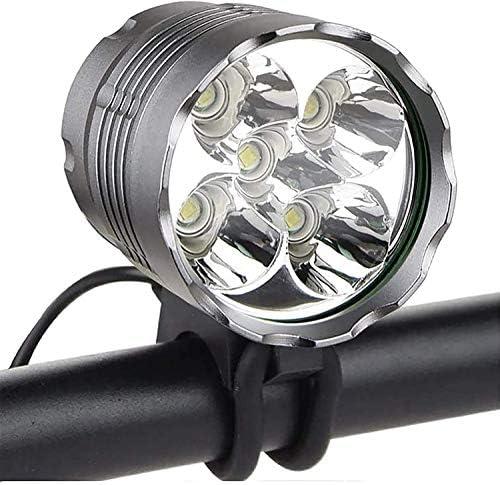 Bike Lights Super Bright 6000 Lumen 5 LED Bicycle Headlight Waterproof Mountain Bike Flash Light product image