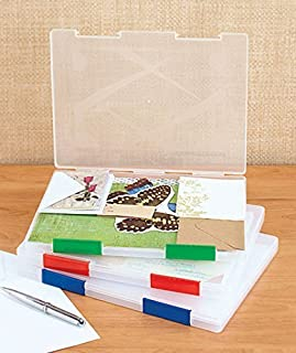 Sets of 3 Clear File Cases by GetSet2Save