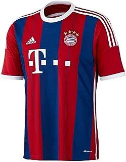 adidas FC Bayern Munich Youth Home Jersey (Red/Blue)