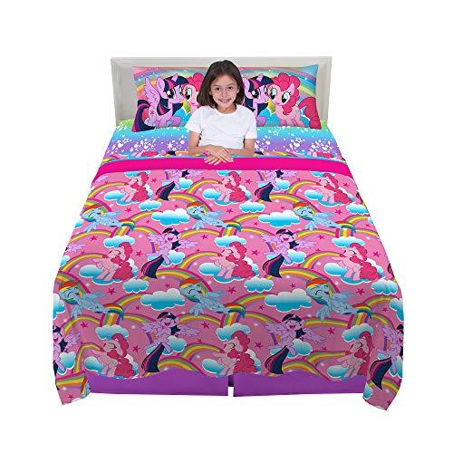 Franco Kids Bedding Sheet Set, 4 Piece Full Size, Hasbro My Little Pony