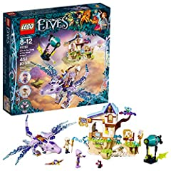 Build a gorgeous wind dragon figure with space for 2 mini-dolls, a 3-level music school with rotating sign, hiding places and a 'floating' island, plus a bat airship with shooting function Includes 3 figures: Aira the wind elf, Lumia and Cyclo the Gu...
