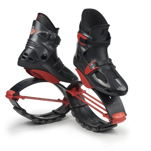 Kangoo Jumps Power Shoes (Child's Model) (Titanium & Red, Boy's...