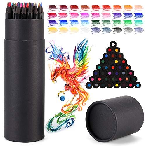 NASHRIO Juego de 36 Lápices de Colores Profesionales, Lapices Colores Preafilados, Pintura, Lápices de Dibujo, Lápices de Colores para Niños, Colorear Adultos, Regalos para Principiantes, Artistas.