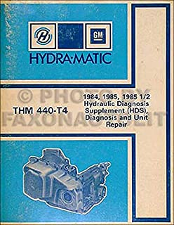 1984-1985 440-T4 Transmission Manual Buick Cadillac Pontiac Olds