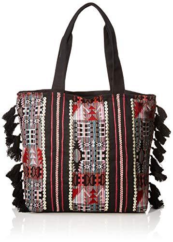 For Time Shopping Hindú, Bolso shopper étnico para Mujer, Multicolor, 36x45x13 cm