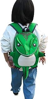 Mochila pequeña para niños, diseño de dinosaurio, mochila escolar, niña, niña, niño, mochila, animales, para guardería,escuela primaria y preescolar, Backpack Picnic de 2 a 5 años