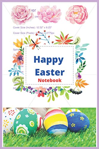 Happy Easter Notebook: Happy Easter Notebook journal for man and women