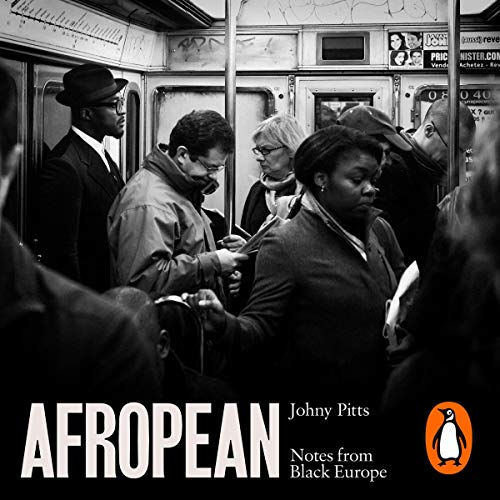 Afropean audiobook cover art