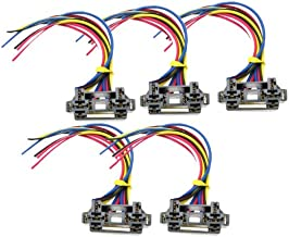 Absolute USA 12 VDC Dual Relay Interlocking Socket with 12-Inch Lead, 25 Set