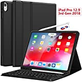 CHESONA iPad Pro 12.9 Case with Keyboard-2018 [Support Apple...