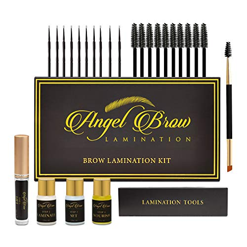 Angel Brow Lamination DIY Eyebrow Lamination Kit | Professional salon quality for at home brow lamination | Brow Perm for feathered brows