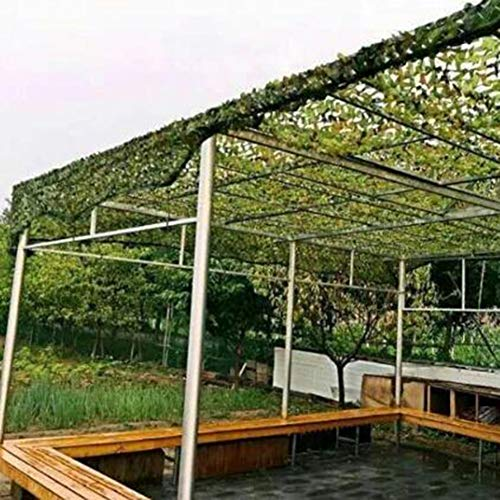 LLA Shade netting shade cloth Garden Gazebo Roof Army Camo Net, for Military Activitie Camouflage, Hidden Photography, Shade Rate 65% Camo Netting (Size : 4M×10M)