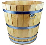 Maceta de jardín de madera para macetero, jardineras y macetas (alerce) - Disponible...