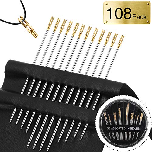 Why Should You Buy 48 Pieces Needles Self Threading Needles Stitching Pins in Assorted Sizes and 60 ...