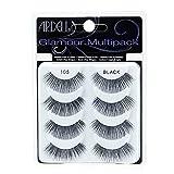 Ardell Multipack 105 False Lashes, Glamour Fake Eyelash, 1 pack x 4 pairs