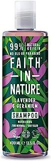 FAITH IN NATURE(フェイスインネイチャー) シャンプー ラベンダー & ゼラニウム 400mL