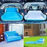 SUV Luftmatratze Auto Luftmatratze Sofa Luftmatratze mit Pumpe,Tragetasche,3in1 Luftbett für Auto und Zuhause,Matratze aufblasbares Bett Air Bett für Reisen,Camping,Wohnzimmer