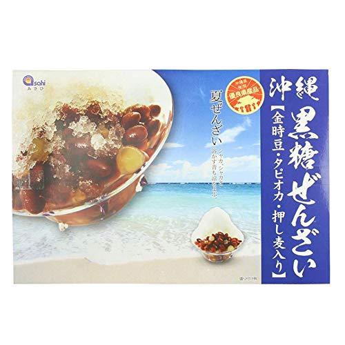 沖縄黒糖ぜんざい 540g 90g×6個×6箱 あさひ
