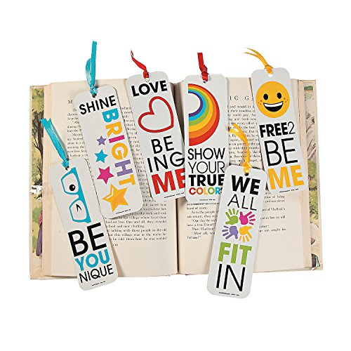 Fun Express Be You Bookmarks - 48 Pieces - Educational and Learning Activities for Kids