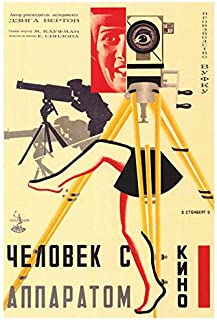 Russian Camera with legs POSTER Movie (27 x 40 Inches - 69cm x 102cm) (1929)