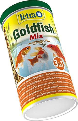 Tetra Pond Goldfish Mix Premium Hauptfutter (Futtermix aus besten Flocken), 1 Liter Dose - 3