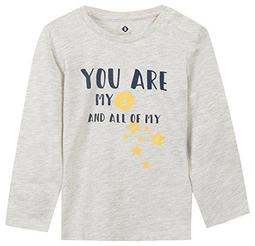 Grain de Blé T- Shirt à Texte Fantaisie Gris, Beige (Sable), 1 an (Taille Fabricant: 12M) Bébé garçon