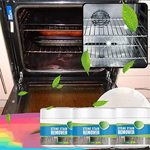 Limpiador, horno quemado limpiador de polvo desengrasante, limpiador de contacto de secado rápido, removedor de manchas multifuncional, agente de pulido de acero inoxidable