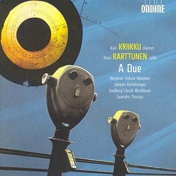 Bergman, E.: Karanssi / Tiensuu, J.: Plus Ii / Kortekangas, O.: Iscrizione / Saariaho, K. Oi Kuu / Merilainen, U.: Unes