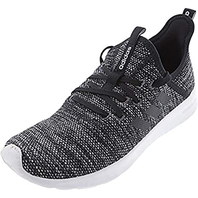 adidas Performance Women's Cloudfoam Pure Running Shoe, Black/Black/White, 10 M US
