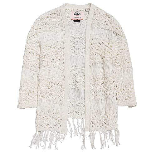 Superdry Willow Crochet Kimono Damen Regenschutz Cream M