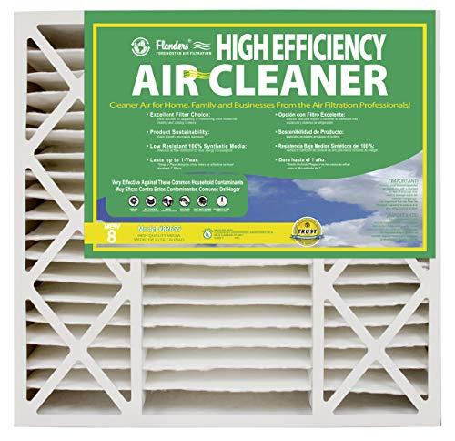 NaturalAire Pre-Pleat 40 Air Filter MERV 8 12-Pack 20 x 25 x 2-Inch