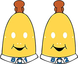 Bananas In Pyjamas Paper Face Masks Pack Of 8 One Size