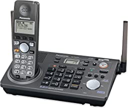 Panasonic KX-TG6700B 5.8 Ghz Cordless Phone Two-line Expandable Phone System