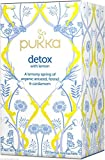 Pukka Detox with Lemon Teabags - 20 per pack