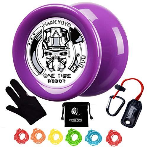 MAGICYOYO Looping Yoyo Responsive Yoyo D2 ONE Third Ball Bearing Yoyo Axle, Premium Plastic Yoyo,...