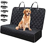Fityou Dog Car Seat Covers, Waterproof Pet Cover for Backseat Protector Hammock 600D