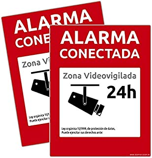 Amazon.es: pegatina alarma securitas