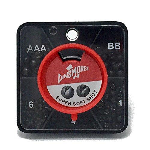 Premier Dinsmores Super Soft Non Toxic Fishing Shot 5 Way Dispenser AAA BB No 1 46